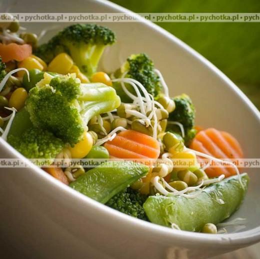Aromatyczne pieczone warzywa