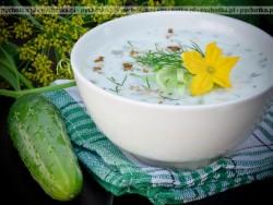 Ogórkowa zupa po góralsku