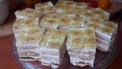 Swojskie jedzonko: DELICJA BANANOWA-bez pieczenia