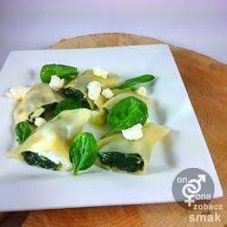 pierogi ze szpinakiem i serem feta – zobacz ich smak