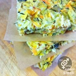 warzywny kugel z batatem i karmelizowanym porem – zobacz ich smak