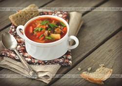 Zupa z wołowiną