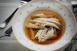 Zupa rybna czosnkiem pachnąca