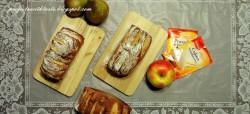 Projekty ze smakiem / Projects with taste: Ciasto bananowo-jogurtowe w kształcie chlebka tak po prostu od serca!