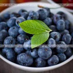 Chłodnik z owoców jagodowych z winem