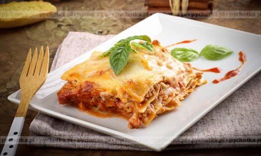 Lasagne z soczewicą czerwoną