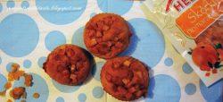 Muffinki bananowo – rumowe z cytrusową nutą / Muffins banana and rum with a addition of citrus