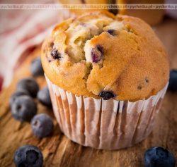 Muffiny z malinami ( jagodami, jeżynami itp.)