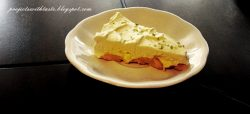 Ciasto cytrusowe na zimno / Cake with citrus on cold