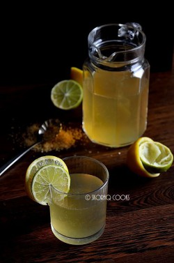 Lemoniada cytrynowo-limonkowa / Lemon and lime lemonade