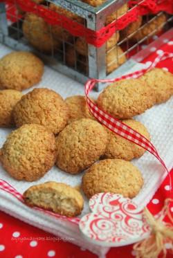 Ciasteczka kokosowo-owsiane