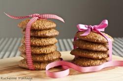 Ciasteczka owsiane z czekoladą i sezamem