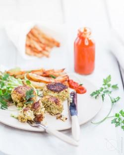 kotlety weganskiem bezglutenowe z warzywami