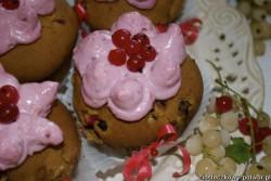 Muffinki / babeczki porzeczkowe