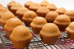 Muffinki waniliowe