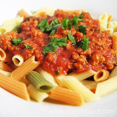 Najprostszy sos mięsno-pomidorowy