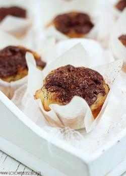 Niesamowite muffiny cukiniowo Nutellowe