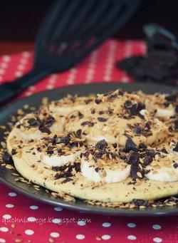 Omlet z czekoladą – bez przewracania