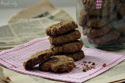 Owsiane ciasteczka imbirowe