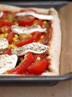 Pełnoziarniste ciasto na pizzę