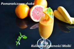 Pomarańczowy shake