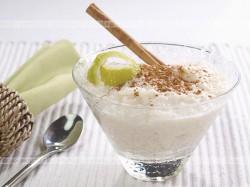 Pudding z zmielonego ryżu