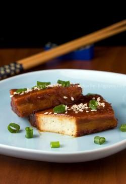 Tofu pieczone w miso