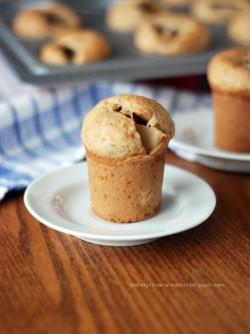 Waniliowe muffiny z gruszką