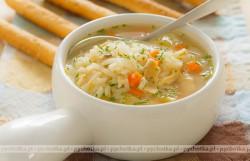 Zupa z baraniny i ryżu