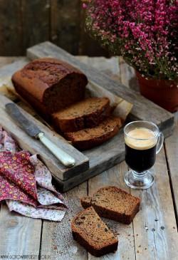 Chlebek dyniowo kawowy