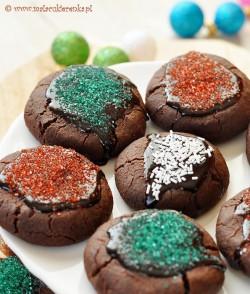 ciasteczka czekoladowe swiateczne