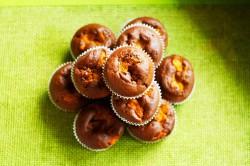 Babeczki kakaowe z Brzoskwiniami