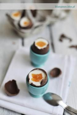 jajka z masą serową