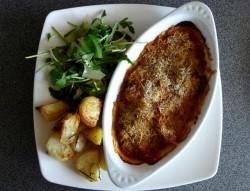 Ryba zapiekana w sosie pomidorowym