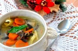 Zupa grzybowa + film