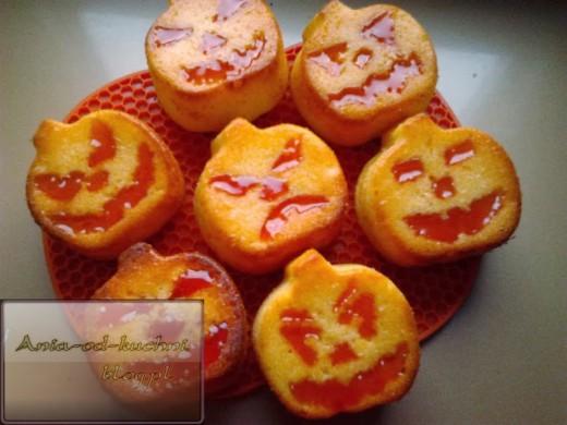 Straszące dynie, czyli halloweenowe babeczki cytrynowe