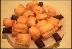 Słodkie ciastka francuskie