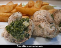 Roladki z kurczaka ze szpinakiem i fetą