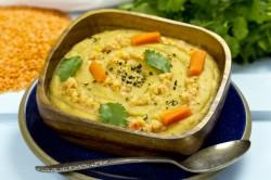 Zupa-Krem z Ziemniaków, Marchwi i Czerwonej Soczewicy