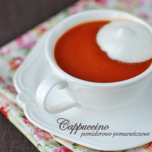 cappuccino pomidorowo-pomarańczowe