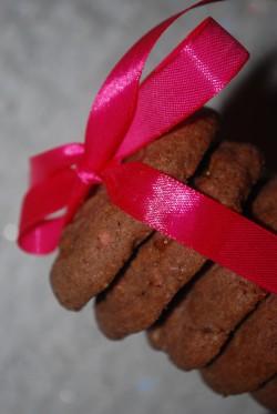 Ciasteczka podwójnie czekoladowe z kawałkami czekolady …
