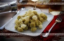 Kluski ziemniaczane z białym serem