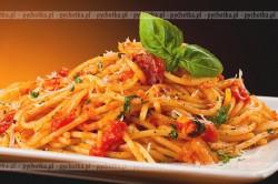 Spaghetti w sosie pomidorowym Adama