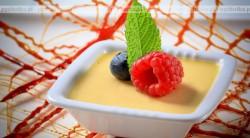 Anielski pudding cytrynowy