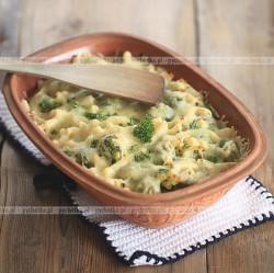 Brokuły w mlecznym sosie
