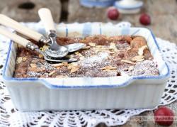 Ciasto z winogronami i migdałami