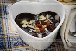 Deser bakaliowo czekoladowy