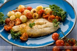 Filety rybne z pomidorami