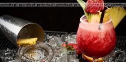 Napój truskawkowy z figami