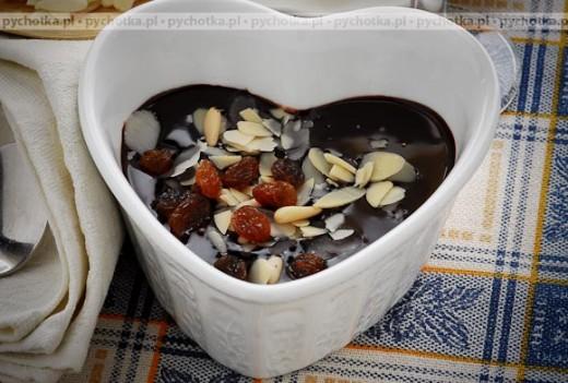 Sos czekoladowy z brandy